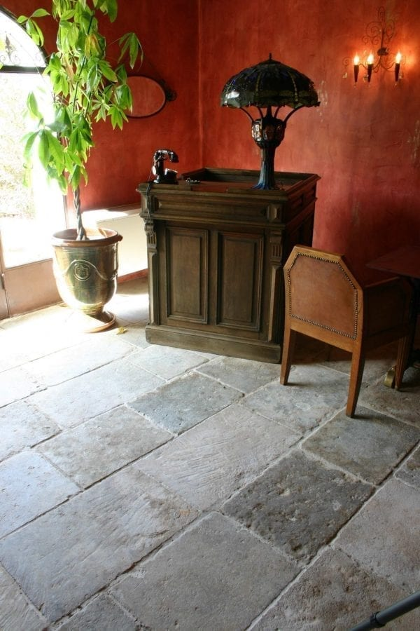 Antique grey bar flooring