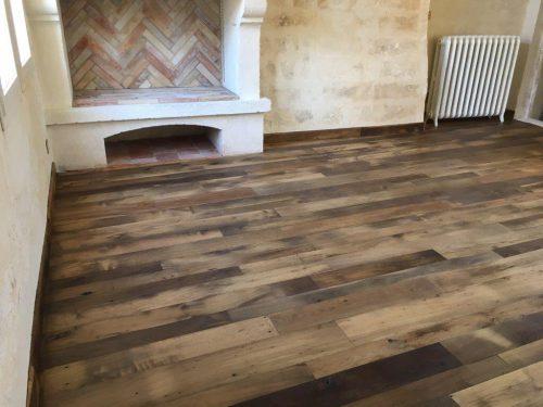 reclaimed oak boards