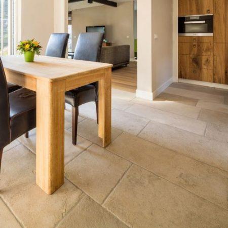 Athena limestone flooring