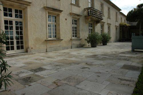 Bourgogne reclaimed flagstones