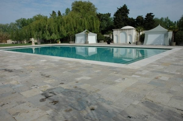 Antique Bourgogne flagstone