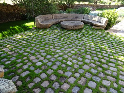 Antique French cobblestones