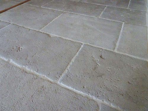 dallage pierre grise