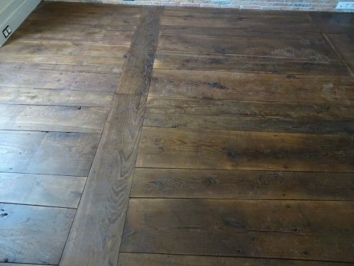 plancher chene ancien