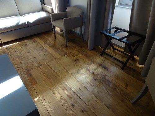 plancher sapin ancien