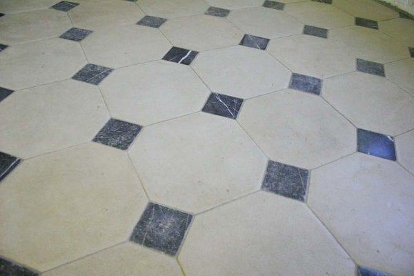 tomette ancienne hexagonale
