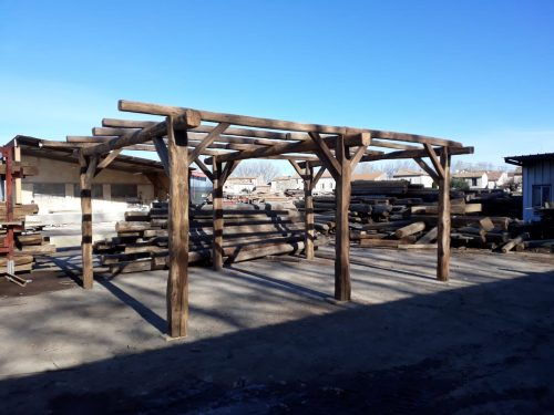 French oak carport