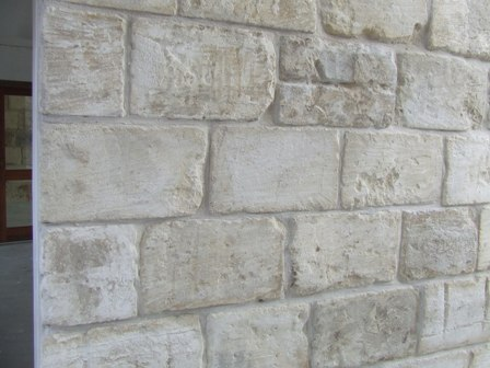 reclaimed stone cladding
