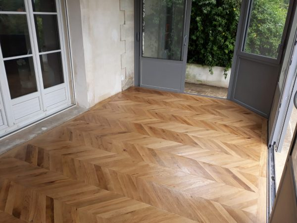 Hungarian point parquet