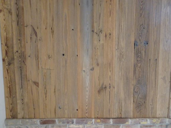 antique pine wall cladding