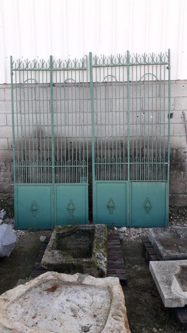 Old French gate